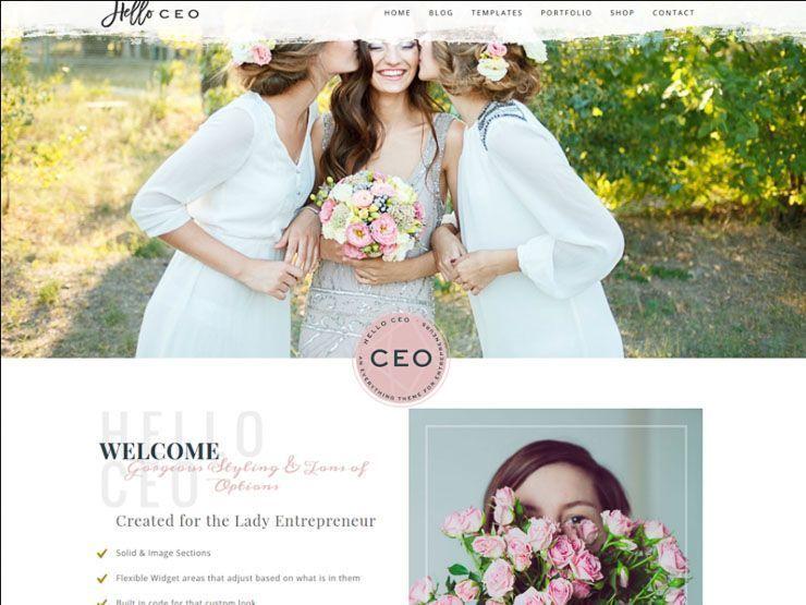 Hello CEO plantilla fotografía WordPress