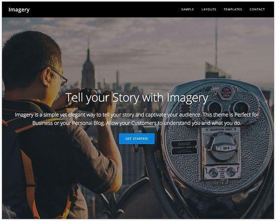 Imagery Appfinite plantilla fotografía WordPress