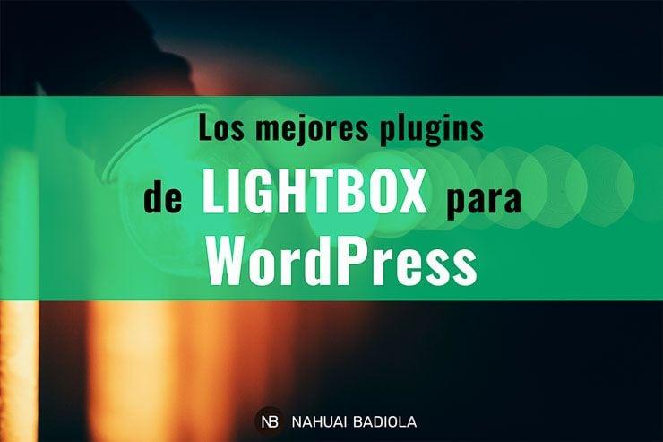 Mejores plugins de lightbox para WordPress