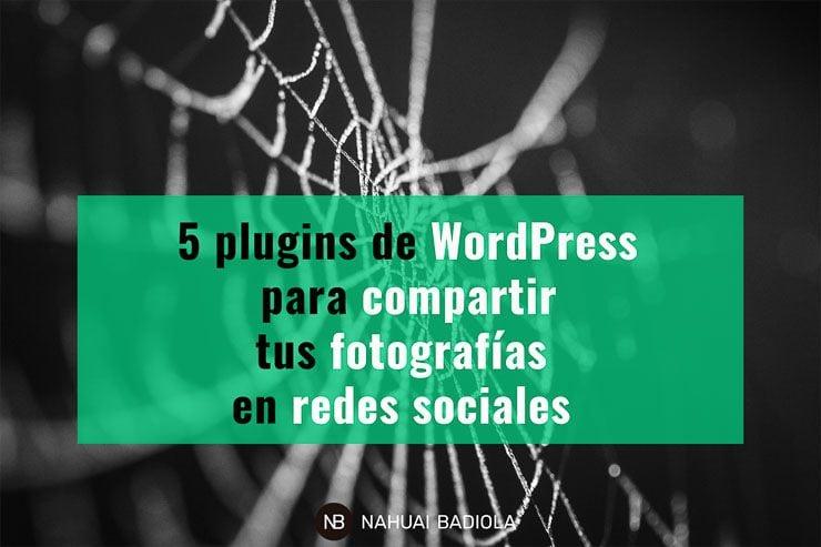 Plugins para compartir fotografías en redes sociales