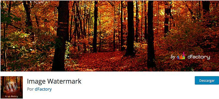 Image Watermark WordPress plugin