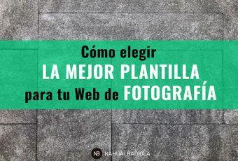 Como elegir mejor plantilla para web de fotografía