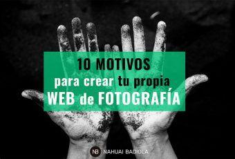 Motivos para tener web de fotografía