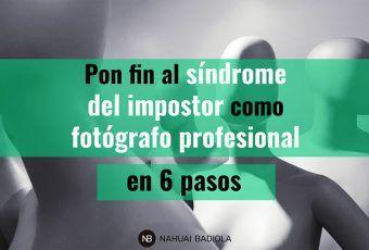Sindrome de impostor como fotógrafo profesional