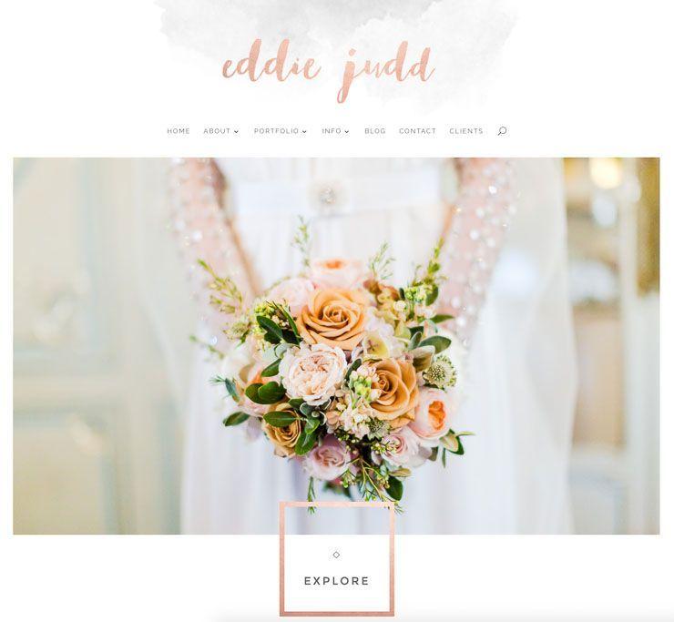 Eddie Judd web de fotografía WordPress