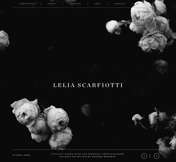 Lelia Scarfiotti web de fotografía WordPress