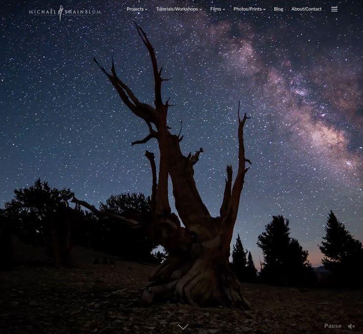 Michael Shainblum web de fotografía WordPress