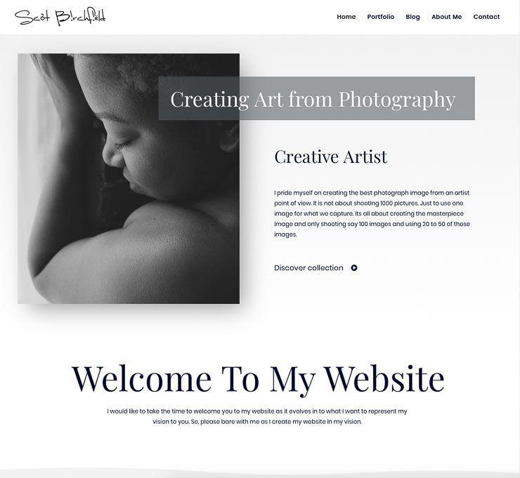Scot Birchfield web de fotografía WordPress