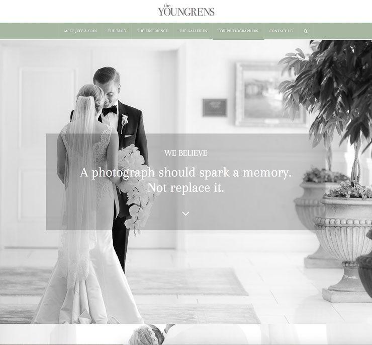 The Youngrens web de fotografía WordPress