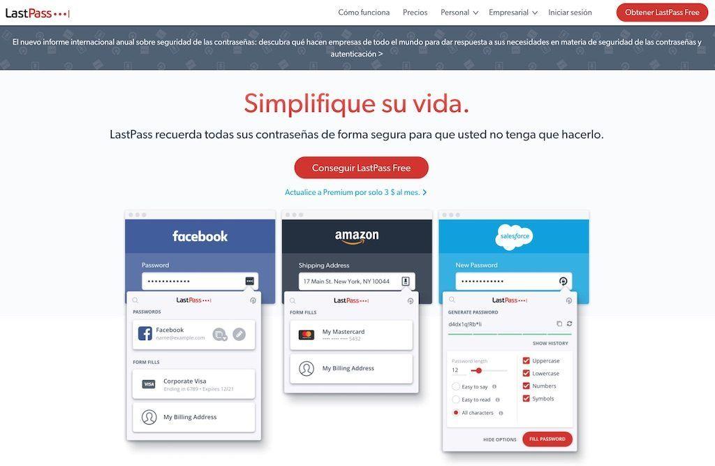 Crear una cuenta de LastPass para compartir de forma segura tus contraseñas