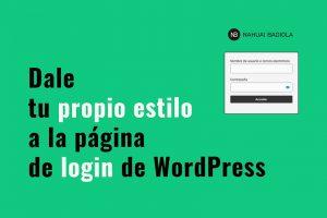 tutorial Osom Login Page Customizer